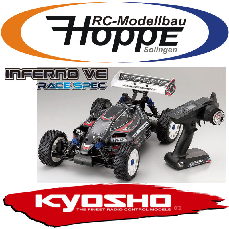 KYOSHO-Inferno-VE-Race-Spec-2-4GHz-1-8-EP-RC-Auto-30876M